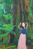 Original oil painting on canvas for giclee Stock Photography