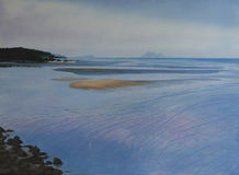 Original Oil Painting - Yule Point Stock Photos