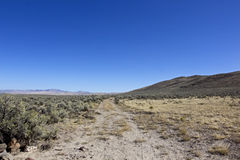 Original Oregon Trail Centered Heading Southeast Royalty Free Stock Photo