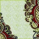 Original ornamental floral vintage template Royalty Free Stock Photos