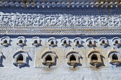 Original and ornamental wall background in Jodhpur, India Stock Photos