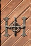 Original- pålitligt dörrhandtag Arkivbild