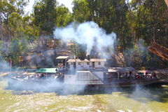 Original Paddle-steamer on the Murray River royalty free stock photography