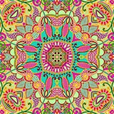 Original paisley seamless pattern Stock Photos