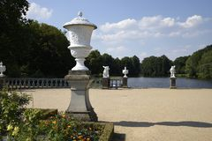 The Charlottenburg palace is the largest palace in Berlin. royalty free stock images