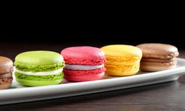 Original Paris Macaroons Stock Photography