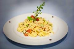 Original pasta  Royalty Free Stock Photos