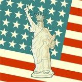 Original patriot flag Royalty Free Stock Image