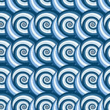 The original pattern of spirals Royalty Free Stock Photo
