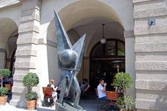 Original Pilsner Urquel Restaurant, Prague. Royalty Free Stock Photos