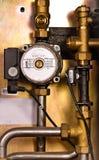 Original pipe conduit Stock Image