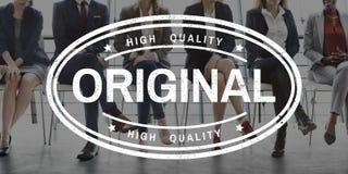Original Premium Limited Kwaliteitsconcept Stock Foto's