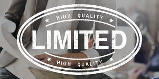 Original Premium Limited Kwaliteitsconcept Royalty-vrije Stock Afbeelding