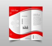 Original Presentation templates or corporate booklet. Easy Use i royalty free illustration