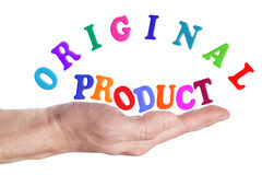 Original product Stock Image