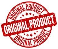 Original product red stamp. Original product red grunge round stamp isolated on white background Stock Photo