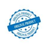 Original product stamp illustration. Original product blue stamp seal illustration design Stock Images