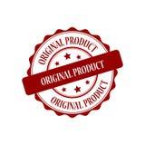 Original product stamp illustration. Original product red stamp seal illustration design Royalty Free Stock Image