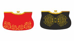 Original purchase fashionable handbags for women Royalty Free Stock Images