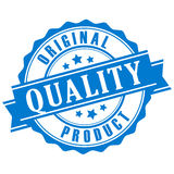 Original quality product vector stamp Royalty Free Stock Image