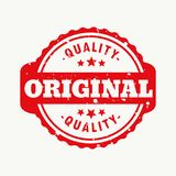 Original quality stamp. Vector design Royalty Free Stock Images
