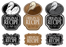 Original Recipe Royalty Free Stock Image