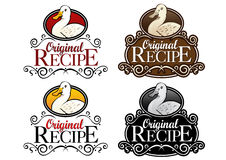 Original Recipe Duck Version Seal Stock Image
