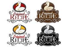 Original Recipe Duck Version Seal Stock Image