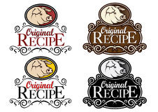 Original Recipe Pork classical seal Stock Photo
