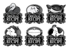 Original Recipe Royal Collection in Black Stock Photo