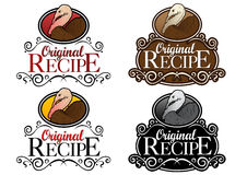 Original Recipe Turkey Seal Stock Image