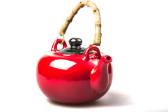 Original red kettle Royalty Free Stock Photo