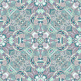 Original retro paisley seamless pattern Stock Photography