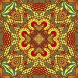 Original retro paisley seamless pattern Stock Images