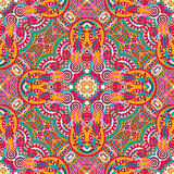 Original retro paisley seamless pattern stock image