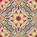 Original retro paisley seamless pattern Royalty Free Stock Photos