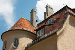Original roof Royalty Free Stock Photo