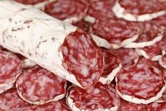 Original Salami Stock Image