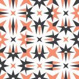 Original scandinavian modern pattern royalty free illustration