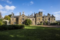 The Stately Home at Scotney Castle, near Lamberhurst in Kent, England. The original Scotney Castle was built beginning in 1378 and completed in 1380. However, it stock photos