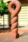 Original sculpture in Vilnius city centre. VILNIUS, LITHUANIA - JUNE 25 : Original sculpture in Vilnius city centre on June 25, 2015, Vilnius, Lithuania stock images