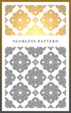 Original seamless pattern, high quality. Rhythmic pattern, based on symmetry Royalty Free Stock Photography
