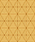 Original seamless pattern of triangles. Royalty Free Stock Photos