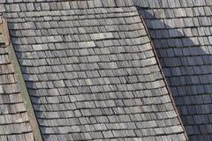Original shingle roof Royalty Free Stock Photos