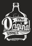 The original sinner Royalty Free Stock Image