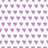 Original small hearts seamless pattern or backgrou Stock Images