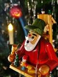 Original smoker from germany (christmas) Stock Photos
