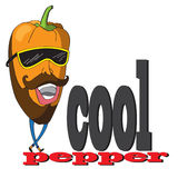 The original spelling of the phrase cool pepper. Stock Image