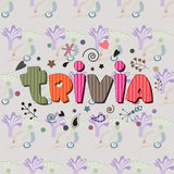 The original spelling of the word trivia. Stock Photos