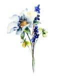 Original spring flowers Stock Images